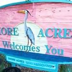 Shore Acres St. Petersburg, FL Entrance Sign