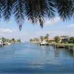 Venetian Isles Canal Shot St. Petersburg FL
