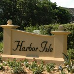 Harbor Isle entrance sign near St. Petersburg, FL, Chris Hounchell & Associates