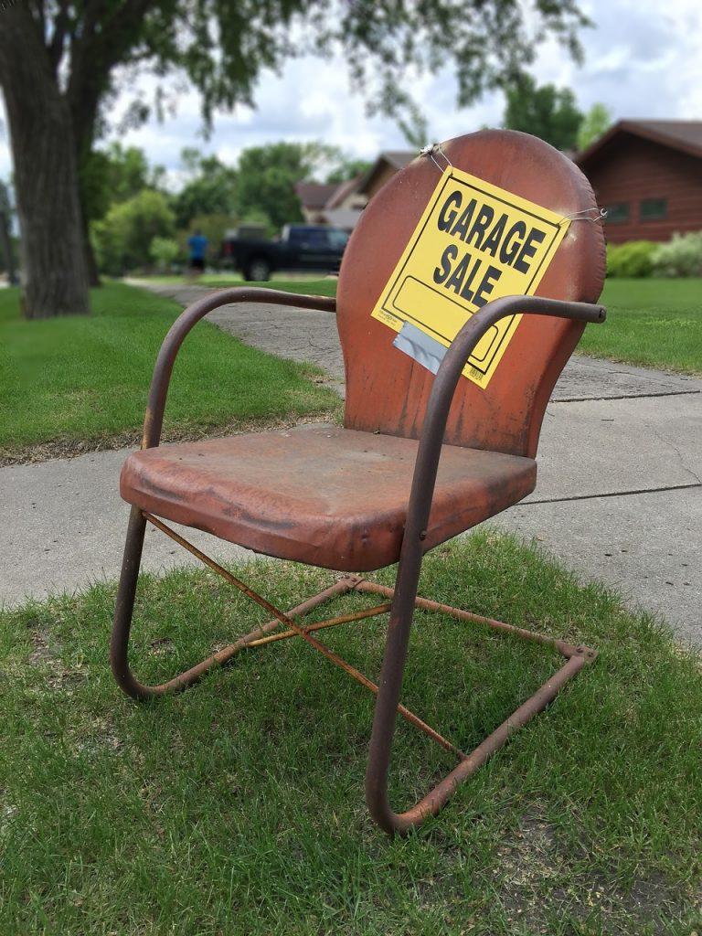 Successful Garage Sale